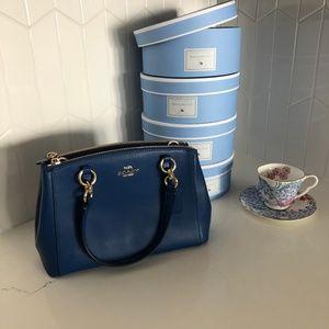 COACH CHRISTIE CARRYALL, ROYAL BLUE $150